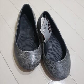 crocs - 新品 クロックス フラットパンプス サイズW5