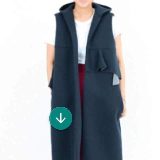 wakachiさん専用yori ボンディングジレ 旧モデル レディースのトップス(ベスト/ジレ)の商品写真
