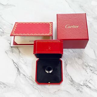 カルティエ(Cartier)のCartier カルティエ C2 ダイヤ リング WG(リング(指輪))