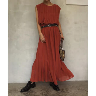 Ameri VINTAGE - ☆美品正規品☆AMERI PLEATS STITCH DRESS