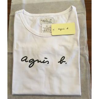 agnes b. - 新品未使用 アニエスベー ロゴTシャツ レディース♡お値下げ中