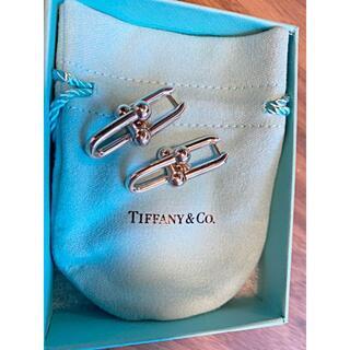 Tiffany & Co. - ティファニー ハードウェア リンクピアス シルバー