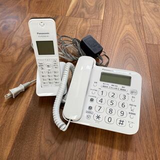 Panasonic - 電話機 パナソニック  VE-GD24-W