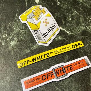 NIKE - OFF WHITE Sticker set ⬜︎ #off02