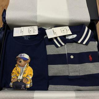Ralph Lauren - ラルフローレン 出産祝い 男の子 85 半袖 Tシャツ セット