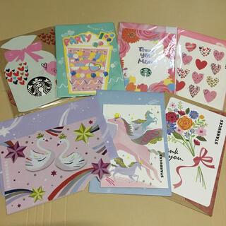 スターバックスコーヒー(Starbucks Coffee)のStarbucks☆スタバ ビバレッジカード グリーティングカード コレクション(印刷物)