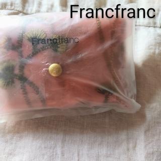 フランフラン(Francfranc)のフランフラン チュールバッグ ピンク 新品 未開封(エコバッグ)