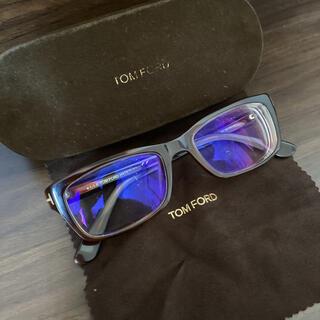 TOM FORD - 中古 トムフォード 度入り メガネ 眼鏡 ケース付き