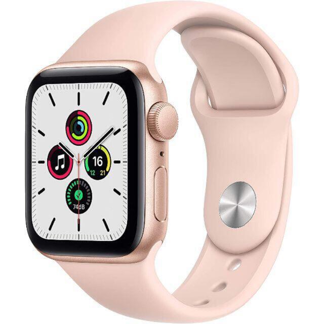 Apple Watch(アップルウォッチ)の新品未開封 Apple Watch SE GPS 40mm メンズの時計(腕時計(デジタル))の商品写真