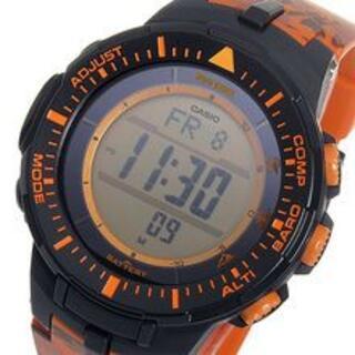 カシオ(CASIO)のCASIO メンズ 腕時計(ラバーベルト)