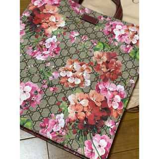 Gucci - ●GUCCIグッチbloomsブルームスGGピンク花柄トートバッグ新品