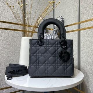 Dior - Dior レディディオール ハンドバッグ マットブラック ミニ