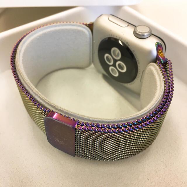Apple Watch(アップルウォッチ)のApple Watch series2 シルバー 38mm アップルウォッチ メンズの時計(腕時計(デジタル))の商品写真