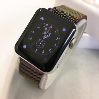 Apple Watch - Apple Watch series2 シルバー 38mm アップルウォッチ