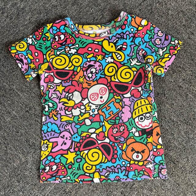 HYSTERIC MINI(ヒステリックミニ)のHYSTERIC MINI 上下セット キッズ/ベビー/マタニティのキッズ服男の子用(90cm~)(Tシャツ/カットソー)の商品写真