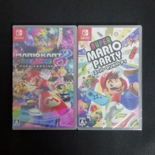 Nintendo Switch - 新品 未開封 マリオカート8 スーパーマリオパーティ Switchソフト2点セッ