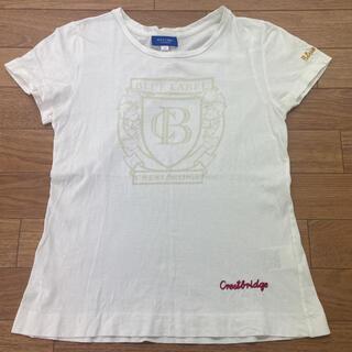 バーバリー(BURBERRY)のBURBERRY バーバリー クレストブリッジ Tシャツ 38(Tシャツ(半袖/袖なし))