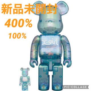 メディコムトイ(MEDICOM TOY)のBE@RBRICK  X-girl 2021 400%×100%(その他)