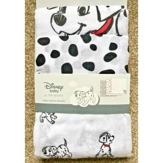 Disney - 日本未発売 ディズニー 101匹わんちゃん モスリンガーゼ3枚セット