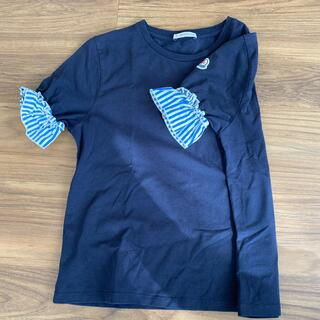 モンクレール(MONCLER)のモンクレール フリルカットソー (Tシャツ(半袖/袖なし))