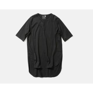 フレームワーク(FRAMeWORK)の未使用・ATONのSUVIN60/2ラウンドヘムTシャツ・ブラック(Tシャツ(半袖/袖なし))