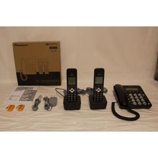 パイオニア(Pioneer)の★ほぼ新品 パイオニア デジタルコードレス留守番電話機 TF-SA36W(BR)(その他)