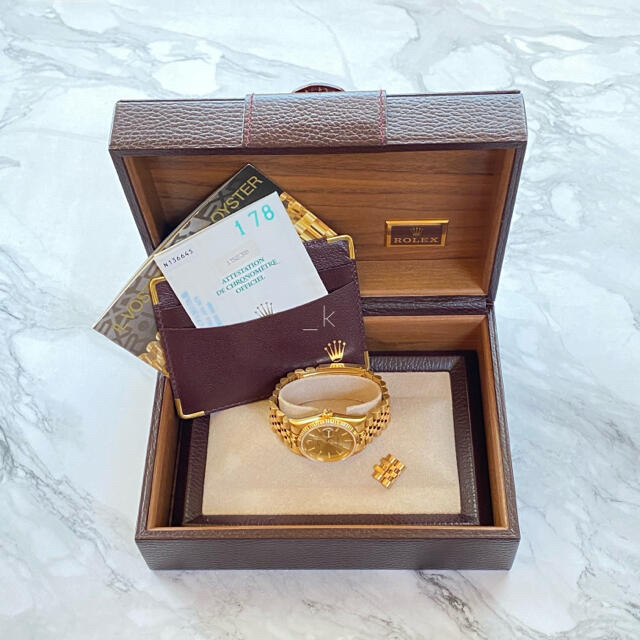 ROLEX(ロレックス)のROLEX ロレックス 時計 パーペチュアルデイト 金無垢 メンズの時計(腕時計(アナログ))の商品写真