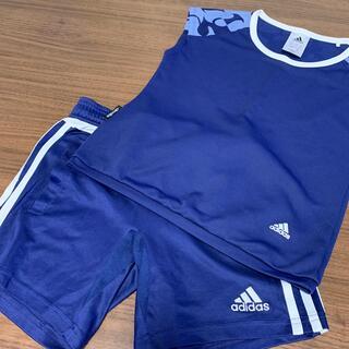 adidas - 【中古】adidas スポーツウエア キッズサイズ130