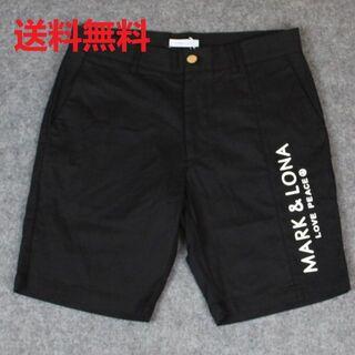 MARK&LONA - 新品未使用 マーク&ロナ MARK&LONA ショートパンツ ブラック
