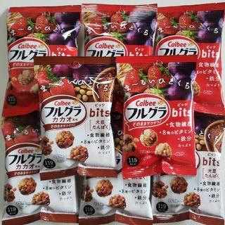 Calbee  フルグラビッツ  2種類    8袋セット(菓子/デザート)