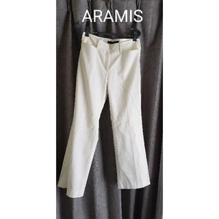アラミス(Aramis)のARAMIS 日本製 綿麻の白パンツ(カジュアルパンツ)