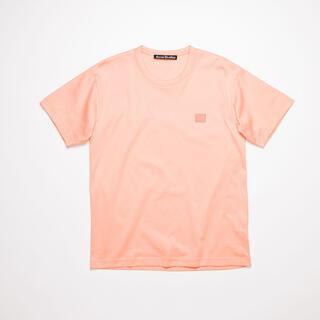 ACNE - 【未使用】Acne Studios Nash Face Tシャツ ピンク
