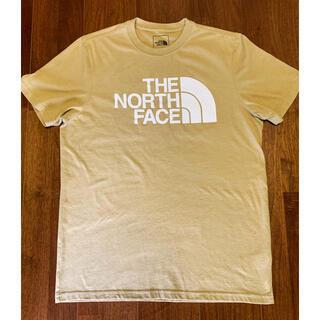 THE NORTH FACE - THE NORTH FACE ノースフェイス ロゴTシャツ 半袖 ベージュ M