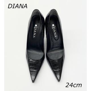 DIANA - DIANA ダイアナ ハイヒール パンプス ブラック 24cm