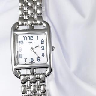 エルメス(Hermes)の【仕上済】エルメス ケープコッド シェル文字盤 ブレス レディース 腕時計(腕時計)