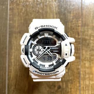 G-SHOCK - CASIO G-SHOCK WHITE 腕時計