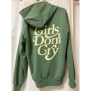 girls don't cry パーカー ガールズドントクライ グリーン 緑(パーカー)