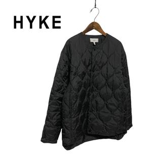 HYKE - 【HYKE】ライナーモチーフ キルティングコート