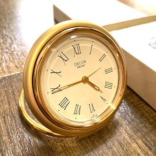 SEIKO - SEIKO DECOR 折りたたみ アラーム 置時計