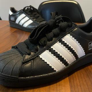 adidas - アディダス スーパースター80s エンラージド ストライプス ブラック