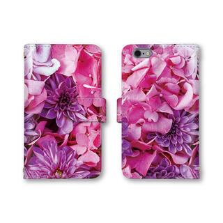 ピンク 花柄 スマホケース 手帳型 スマホカバー ほぼ全機種対応