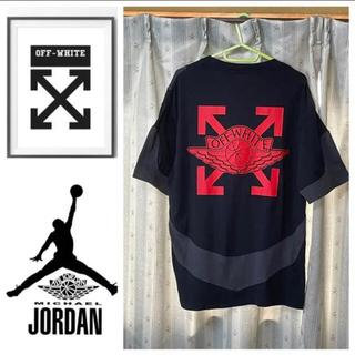オフホワイト(OFF-WHITE)のジョーダン オフホワイト tシャツ(Tシャツ/カットソー(半袖/袖なし))