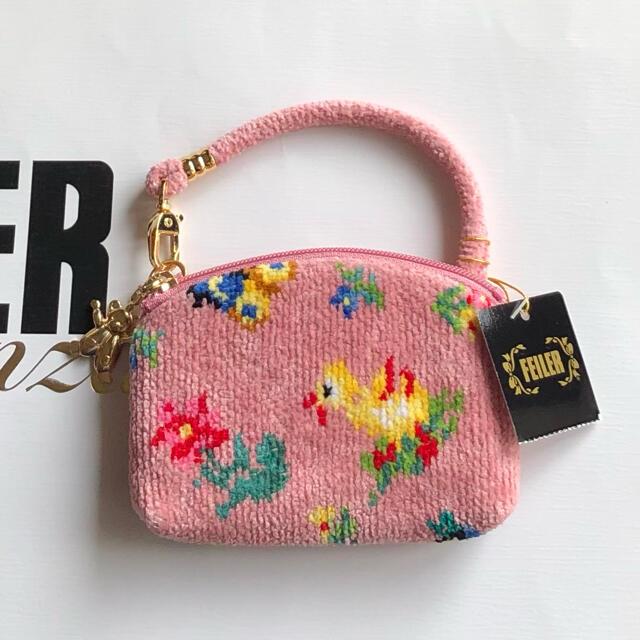 FEILER(フェイラー)のFEILER サイドポーチ ① ♩ハイジ グレースピンク♩ レディースのファッション小物(ポーチ)の商品写真