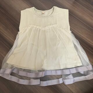 petit main - petit main ノースリーブ チュール Tシャツ 120