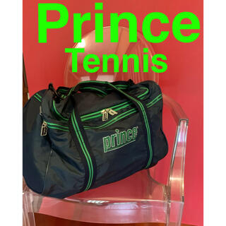 プリンス(Prince)のプリンス ダッフルバッグ 大型 ネイビー グリーン(バッグ)