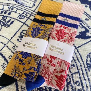 Vivienne Westwood - ヴィヴィアンウエストウッド 靴下2足セット