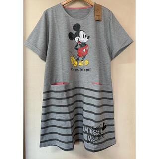 Disney - 新品 ディズニー ミッキーマウス チュニックエプロン ルームウェア M~Lサイズ