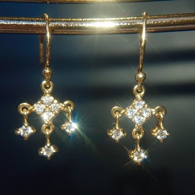 AHKAH(アーカー)のキキ様専用 アーカー エターナルシャンデリアピアス ダイヤ レディースのアクセサリー(ピアス)の商品写真