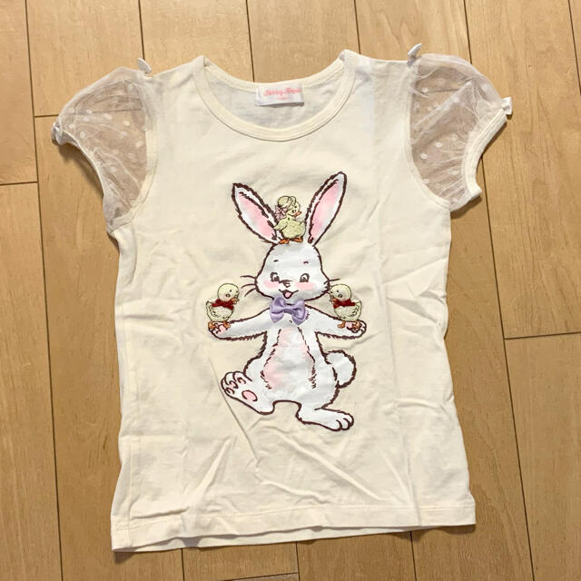 Shirley Temple(シャーリーテンプル)のシャーリーテンプル🎀Tシャツ 120 キッズ/ベビー/マタニティのキッズ服女の子用(90cm~)(Tシャツ/カットソー)の商品写真