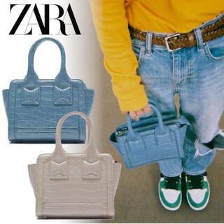 ZARA - ZARAアニマルプリントミニシティバッグ